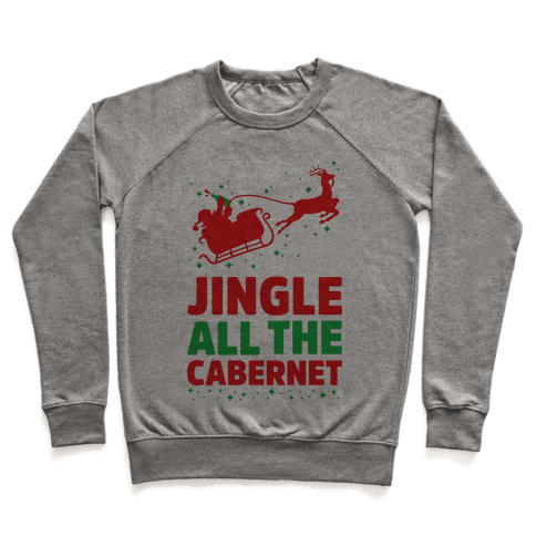 Jingle All the Cabernet Pullover