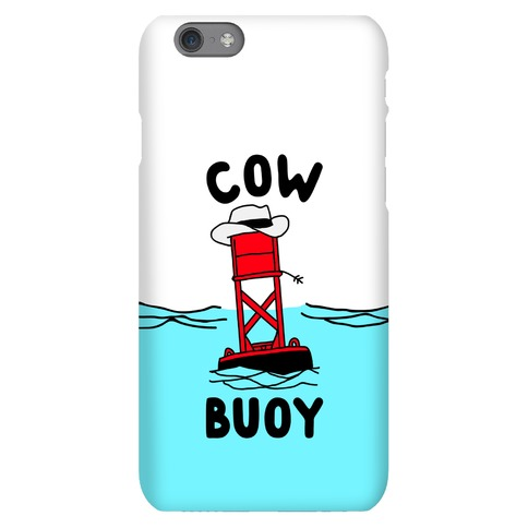 Cow Buoy Phone Case