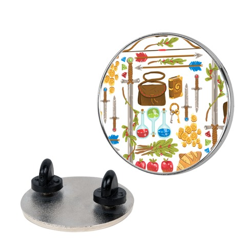 Fantasy RPG Adventurer Kit Pin