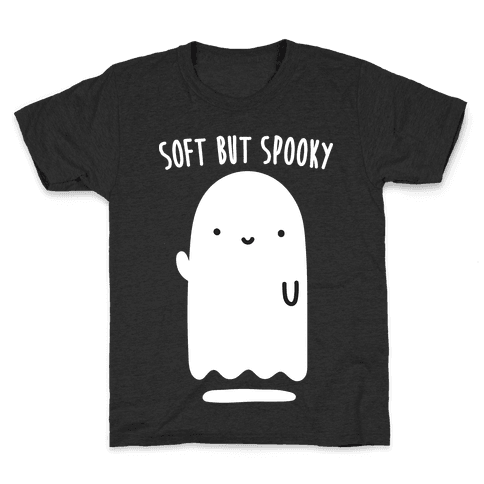 Soft But Spooky Ghost Kids T-Shirt