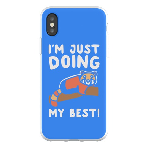 Red Panda Just Doing Her Best Phone Flexi-Case