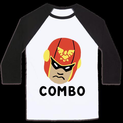 Wombo Combo - Captain Falcon (1 of 2 Set) Baseball Tee