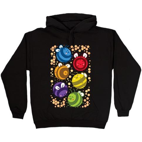 Orb Bees Hooded Sweatshirt
