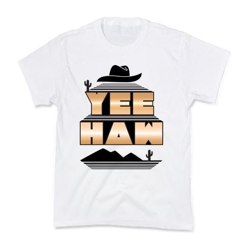 Retro 80s Yee Haw Kids T-Shirt