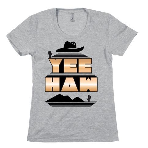 Retro 80s Yee Haw Womens T-Shirt