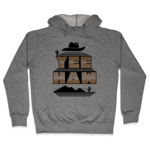 Retro 80s Yee Haw Hooded Sweatshirt