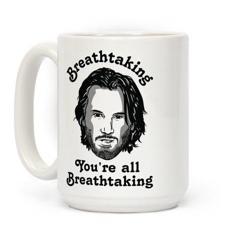 Breathtaking Keanu Coffee Mug