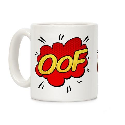 OOF Comic Sound Effect Coffee Mug
