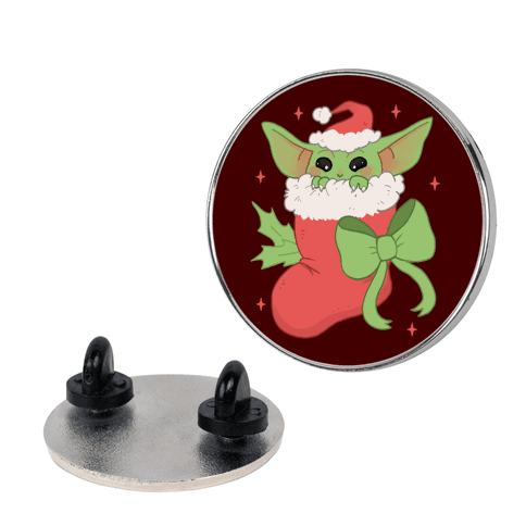 All I Want For Christmas Is Baby Yoda Pin
