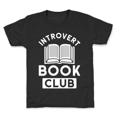 Introvert Book Club Kids T-Shirt