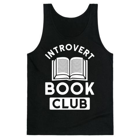 Introvert Book Club Tank Top