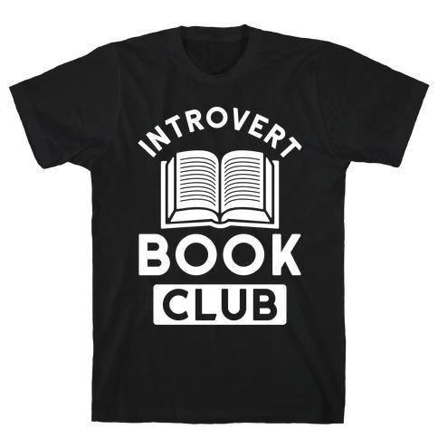 Introvert Book Club T-Shirt
