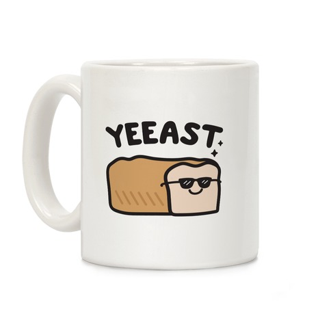 YEEAST Bread Coffee Mug