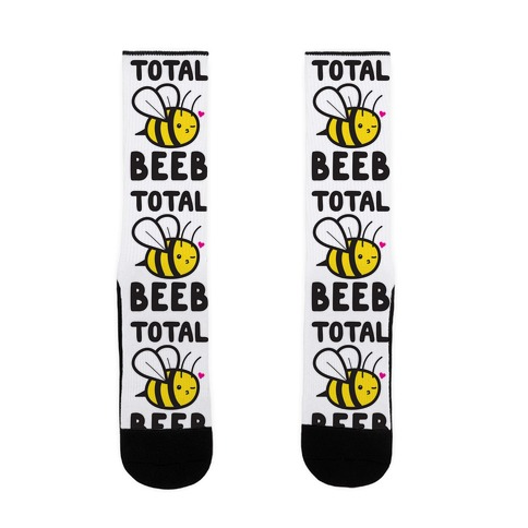 Total Beeb Bee Sock