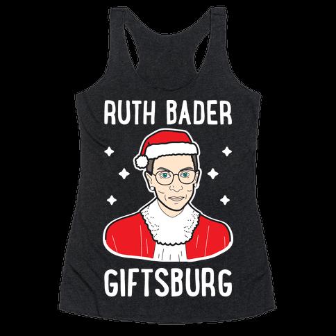 Ruth Bader Giftsburg Racerback Tank Top