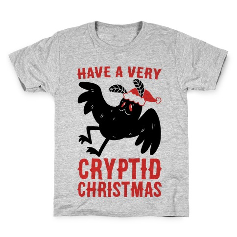 Have a Very Cryptid Christmas - Mothman Kids T-Shirt