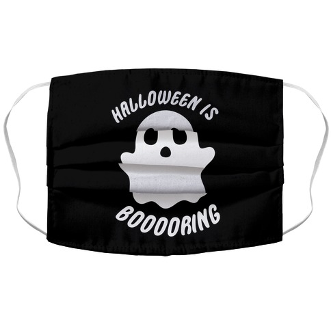 Halloween is Boo-ring Accordion Face Mask