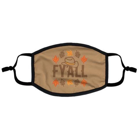 F'yall  Flat Face Mask
