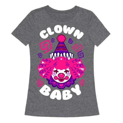 Clown Baby Womens T-Shirt