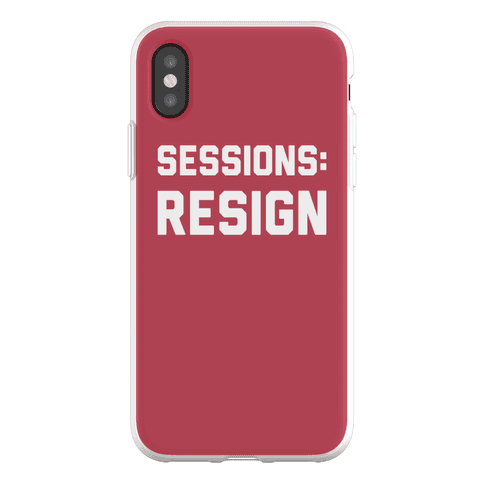 Sessions Resign Phone Flexi-Case