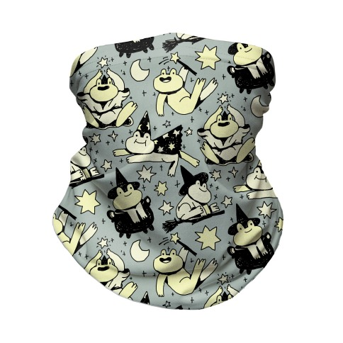 Magic Frogs Neck Gaiter
