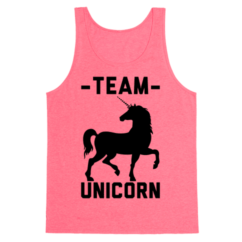 Team Unicorn Tank Top