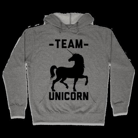 Team Unicorn Hooded Sweatshirt