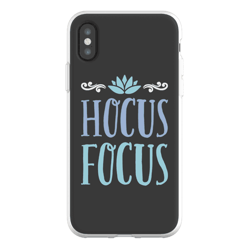 Hocus Focus Yoga Phone Flexi-Case