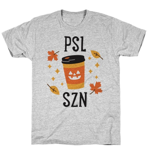 PSL SZN (Pumpkin Spice Latte Season) T-Shirt