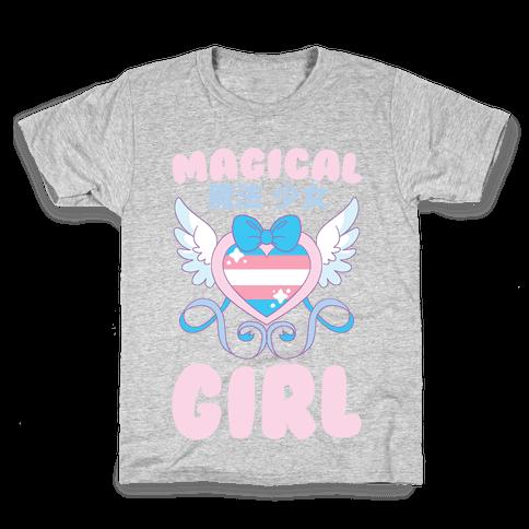 Magical Girl - Trans Pride Kids T-Shirt