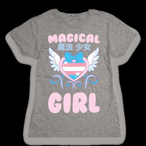Magical Girl - Trans Pride Womens T-Shirt