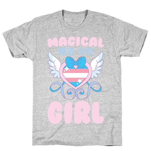 Magical Girl - Trans Pride T-Shirt