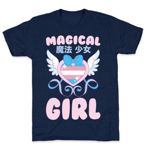 Magical Girl - Trans Pride T-Shirt