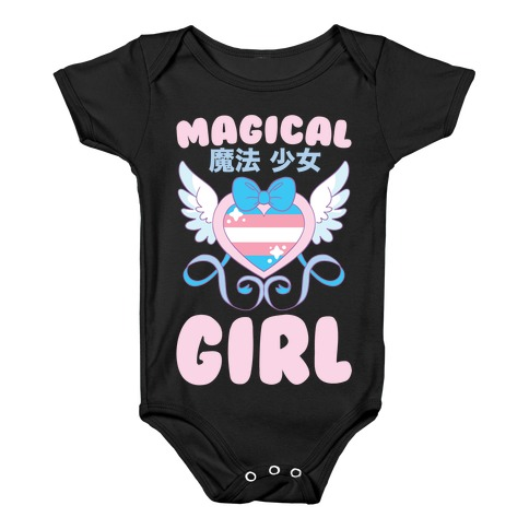 Magical Girl - Trans Pride Baby Onesy