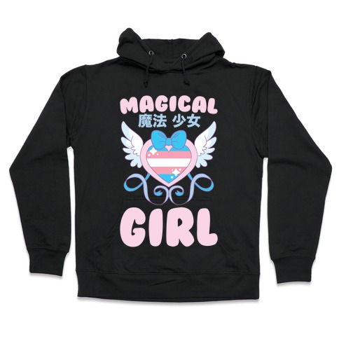 Magical Girl - Trans Pride Hooded Sweatshirt