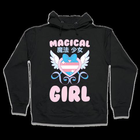 Magical Girl - Trans Pride Hooded Sweatshirt