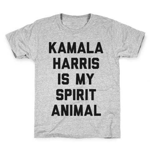 Kamala Harris Is My Spirit Animal Kids T-Shirt