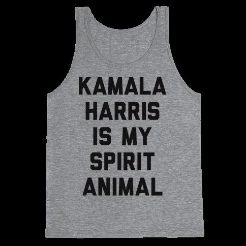 Kamala Harris Is My Spirit Animal Tank Top