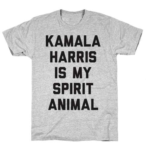 Kamala Harris Is My Spirit Animal Mens T-Shirt