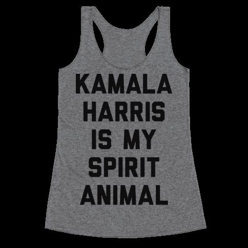 Kamala Harris Is My Spirit Animal Racerback Tank Top