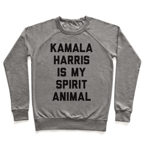 Kamala Harris Is My Spirit Animal Pullover