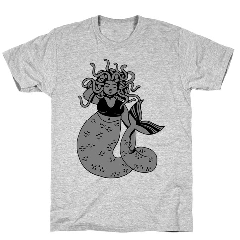 Merdusa (Mermaid Medusa) T-Shirt