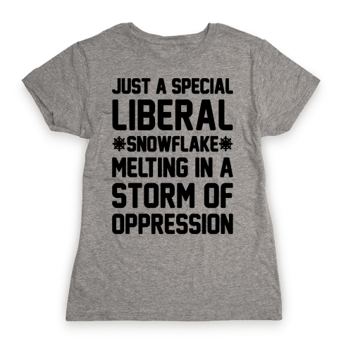 Just a Special Liberal Snowflake Womens T-Shirt