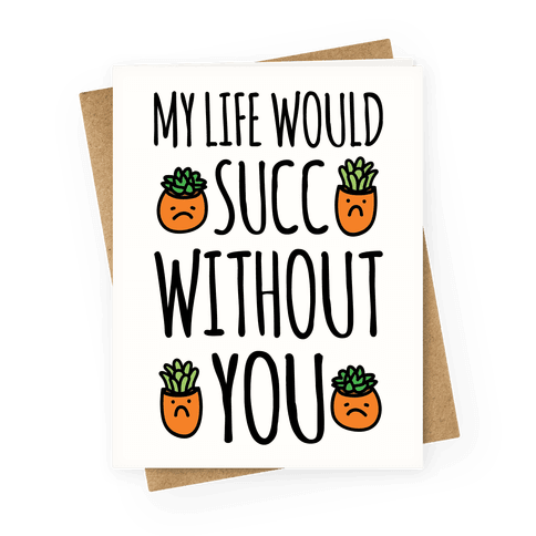 My Life Would Succ Without You Parody