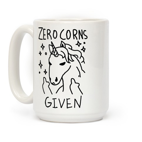 Zero Corns Given Coffee Mug