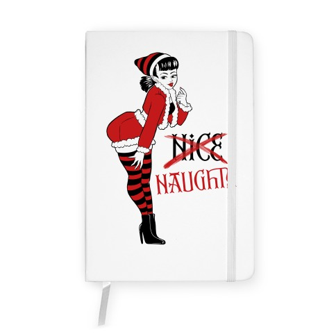 Naughty Elf Notebook