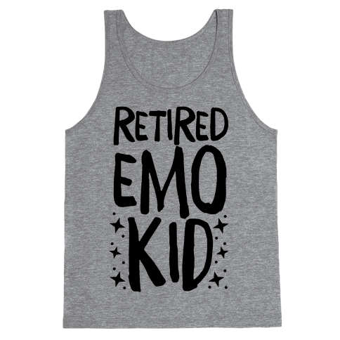 Retired Emo Kid Tank Top