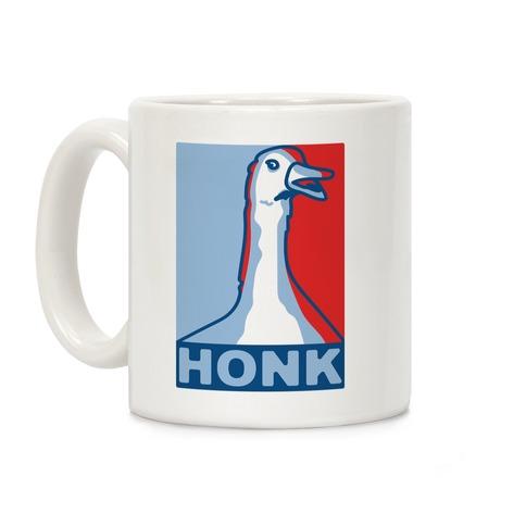 Goose HONK Parody Coffee Mug