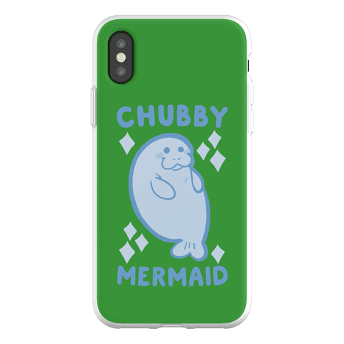 Chubby Mermaid Phone Flexi-Case