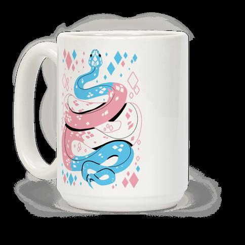 Pride Snakes: Trans Coffee Mug